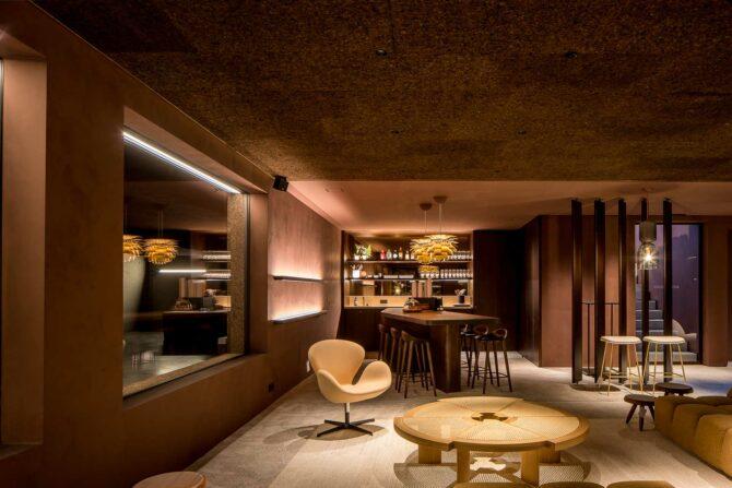 RR Interieur Knokke - underground RR lounge